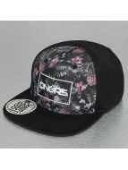 Dangerous DNGRS Snapback Caps Flower czarny