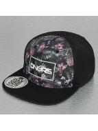 Dangerous DNGRS Snapback Caps Flower musta