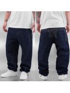 Dangerous DNGRS Spodnie Baggy Logo niebieski