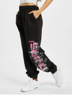 Dangerous DNGRS Spodnie do joggingu Logo czarny