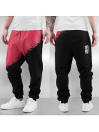 Dangerous DNGRS Spodnie do joggingu Two Tone Race City czarny