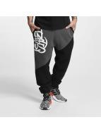 Dangerous DNGRS Spodnie do joggingu LGNDZ Logo czarny