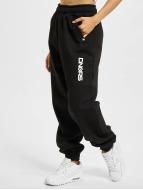 Dangerous DNGRS Spodnie do joggingu Soft Dream Leila Ladys Logo czarny