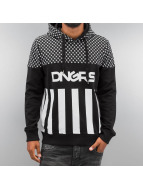 Dangerous DNGRS Sweat à capuche Blocks noir