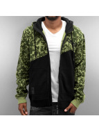 Dangerous DNGRS Sweat à capuche zippé Limited Edition camouflage