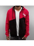 Dangerous DNGRS Sweat à capuche zippé Limited Edition rouge