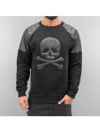 Dangerous DNGRS Swetry Skull czarny