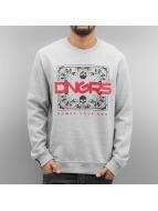 Dangerous DNGRS Egopulli Sweatshirt Grey Melange