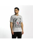 Dangerous DNGRS T-paidat Boxing harmaa