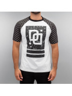 Dangerous DNGRS T-shirt Big Doubles D bianco