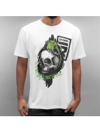Dangerous DNGRS T-Shirt Content Under Pressure blanc