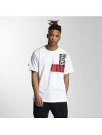 Dangerous DNGRS T-Shirt Paint Stain blanc