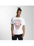 Dangerous DNGRS T-Shirt Skully blanc