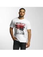 Dangerous DNGRS T-Shirt Scratchwork blanc
