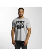 Dangerous DNGRS T-shirt From The Streets Throw Up grå