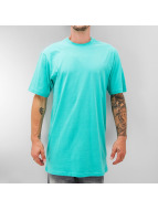 Dangerous DNGRS T-shirt longoversize Blank turquoise