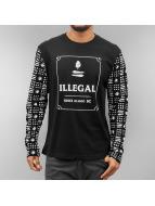 Dangerous DNGRS T-Shirt manches longues Illegal noir