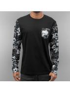 Dangerous DNGRS T-Shirt manches longues Badass noir