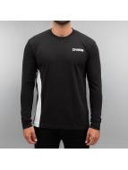 Dangerous DNGRS T-Shirt manches longues Outlines noir