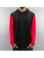 Dangerous DNGRS T-Shirt manches longues Hooded noir