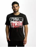 Dangerous DNGRS T-shirt Hello nero