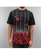 Dangerous DNGRS T-Shirt Roses noir
