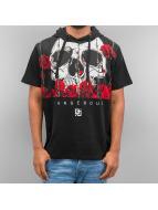 Dangerous DNGRS T-Shirt Skull Hooded noir