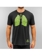 Dangerous DNGRS T-Shirt Hemp Lung noir