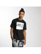 Dangerous DNGRS T-Shirt From The Streets Throw Up noir