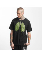 Dangerous DNGRS T-Shirt Green Lung noir