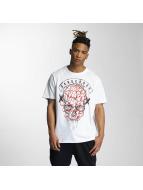 Dangerous DNGRS T-Shirt Skully weiß