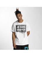 Dangerous DNGRS t-shirt Je Suis Graffiti wit