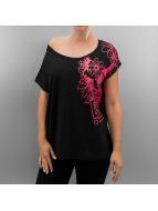 Dangerous DNGRS t-shirt Flower zwart