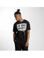Dangerous DNGRS t-shirt Je Suis Graffiti zwart