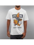 Dangerous DNGRS T-Shirts Butterfly beyaz