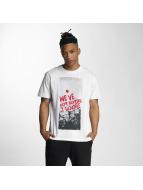 Dangerous DNGRS T-Shirty Nothing 2 Loose *B-Ware* bialy