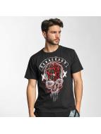 Dangerous DNGRS T-Shirty Skull czarny
