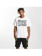 Dangerous DNGRS T-skjorter Cooper Street Art hvit