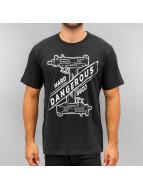 Dangerous DNGRS T-skjorter Hardcore Uzi svart
