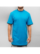 Dangerous DNGRS Tall Tees Two Tone turquoise