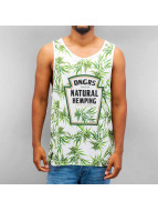 Dangerous DNGRS Tank Tops Natural Hemping bianco