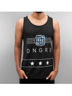 Dangerous DNGRS Tank Tops Star nero