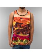 Dangerous DNGRS Tanktop Burger zwart
