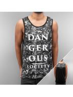 Dangerous DNGRS Tanktop Tim zwart