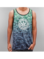 Dangerous DNGRS Tanktop Tight Weed zwart