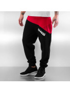 Taro Sweatpants Black/Re...
