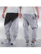 Two Tone Sweatpants Grey...