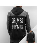 Dangerous DNGRS Zip Hoodie Crimes & Rhymes черный