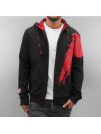Dangerous DNGRS Zip Hoodie Azyl - Leben eines Fighters black