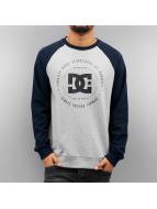 DC Пуловер Rebuilt Raglan индиго